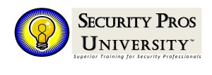 Security Pros University Logo